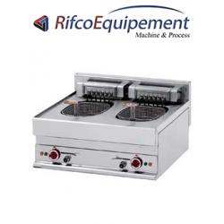 Friteuse électrique 2 cuves 10 litres -Top-
