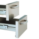 N17/2TBN-N 2 tiroirs pour soubassement mod. 400 mm