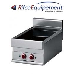 Cuisinière électrique vitrocéramique 2 foyers -Top-