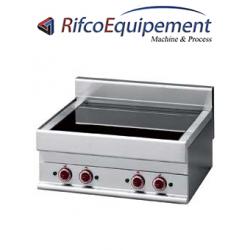 Cuisinière électrique vitrocéramique 4 foyers -Top-