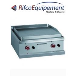 Plaque de cuisson gaz plaque lisse au chrome dur 50 µm -Top-