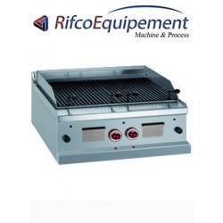 Grill pierre de lave gaz grille de cuisson en -O- -Top-