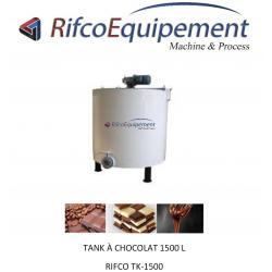 Tank à chocolat 1500-5000L