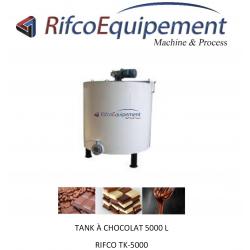 Tank à chocolat 5000L