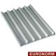 AC/PA-P5 Plaque en aluminium 600x400h38 mm, peforée-ondulée