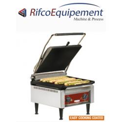 Contact-grill HAUT RENDEMENT plaques émaillées